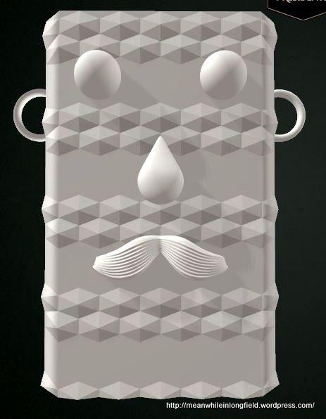 moustache Paulig Presidentti 3d -kahvirasia